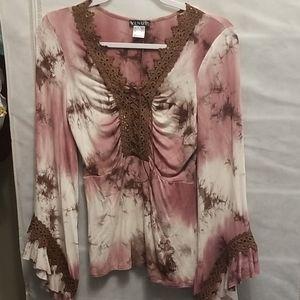 Venus tye dye boho blouse